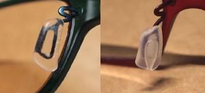Zoffの鼻パッド。右が新型。